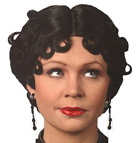 Betty Boop Halloween Costume Accessories (Rubie's Costume Betty Boop Betty Black Wig  Black  One)