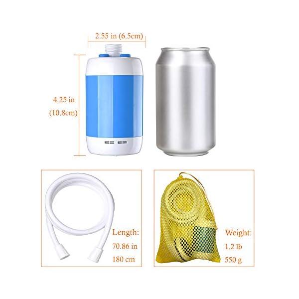 41QgZWAE8gL Laserbeak Tragbare Duschen Camping Dusche Mobile Duschen Portable Duschen Außenduschen,Für Indoor oder Outdoor…