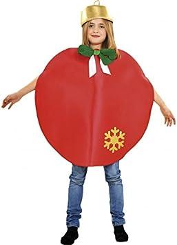 Disfraz de Bola de Navidad verde para niños 7 a 9 años: Amazon.es ...