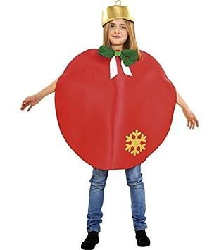 Disfraz De Bola De Navidad Roja Para Ninos 3 A 4 Anos Amazon Es