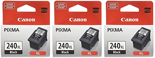 Canon PG-240XL Black Cartridge (3, Black) by Canon