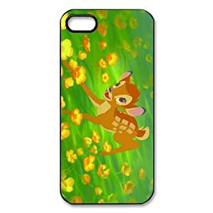 Customize Black White Disney Bambi Back Case for iphone 5 5S -2185 hongguo's case