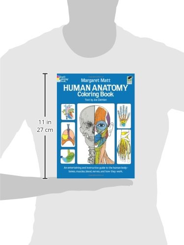 Human Anatomy Coloring Book (Dover Children's Science Books ...