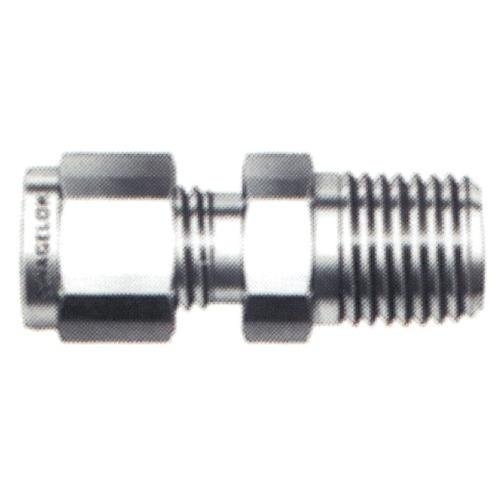 Swagelok SS-200-1-4 Stainless Steel Tube Fitting, Male Connector, 1/8'' Tube OD, 1/4'' Male NPT by Swagelok