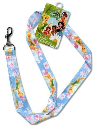 Disney Tinkerbell Lanyard 18 x .75 Inch Key Leash
