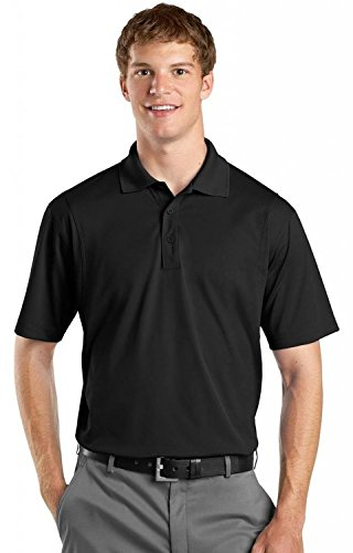 Sport-Tek Micropique Sport-Wick Polo>XL Black ST650