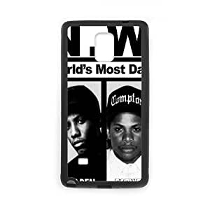 N.W.A. Samsung Galaxy Note 4 Cell Phone Case Black 91INA91296276
