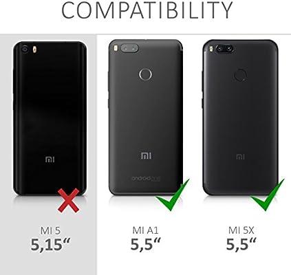 kwmobile Funda compatible con Xiaomi Mi 5X / Mi A1: Amazon.es ...