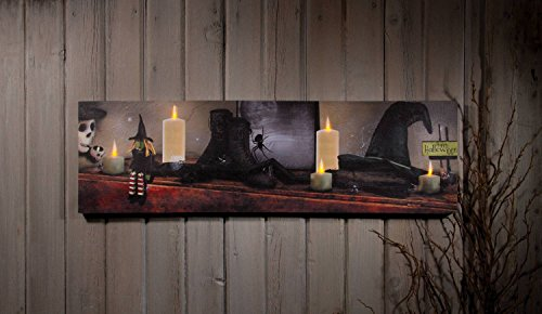Ohio Wholesale Halloween Mantle Lighted Canvas 10