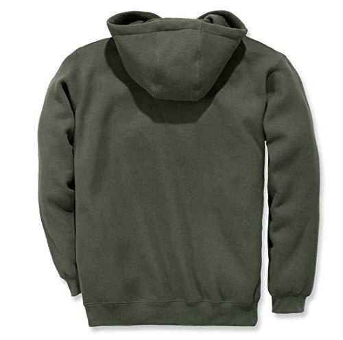 Hombre Para Canopy Sudadera Workwear Green Con Carhartt Capucha xq4ZXC