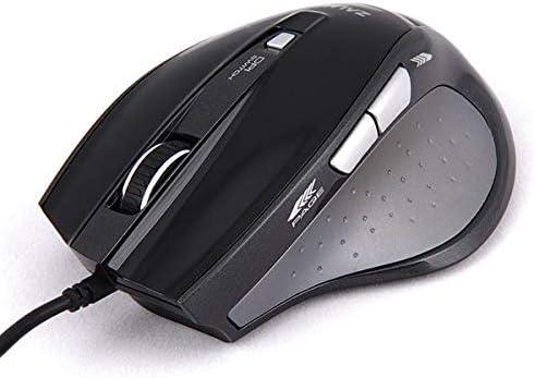 Zalman Optical 1600DPI 6 Multi-Button USB Gaming Mouse (ZM-M400)