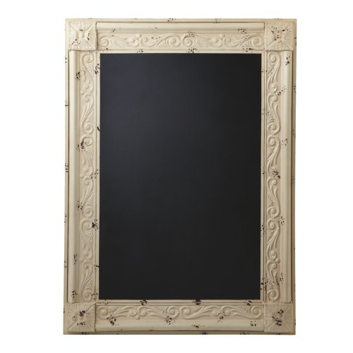 Midwest-CBK Oversized Distressed Framed  - Ivory Chalk Shopping Results
