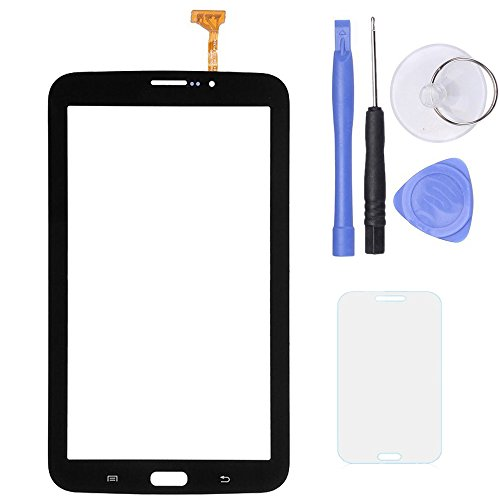 SPHENEL Digitizer Touch Screen for Samsung Galaxy Tab 3 7.0 T211 P3200 / T210 3G Version (Digitizer With Ear Speaker Hole-Black)