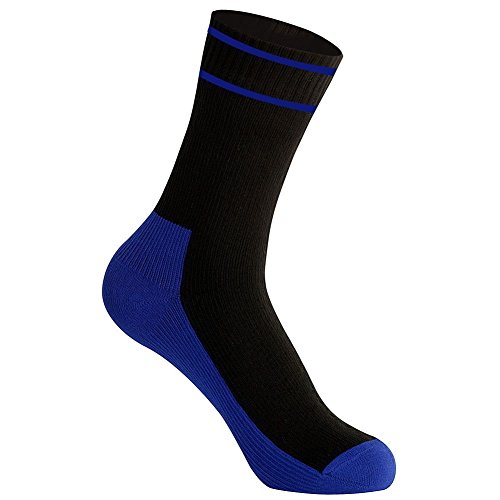 WATERFLY Waterproof Socks Breathable Sweat-absorbing Socks for Men Women Trekking Hiking (Spring Water Creek Cold)