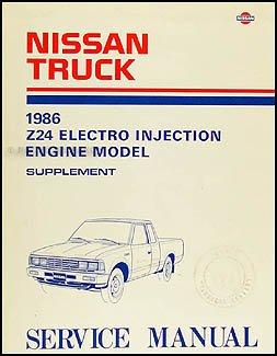 1986 nissan 720 truck z24 electro injection engine repair shop rh amazon com 1986 nissan 720 service manual 1985 nissan 720 service manual pdf