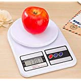 Ionix Multipurpose Portable Electronic Digital Weighing Scale Weight Machine (10 Kg - with Back Light)