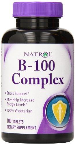 Natrol B 100 Complex Tablets Pack