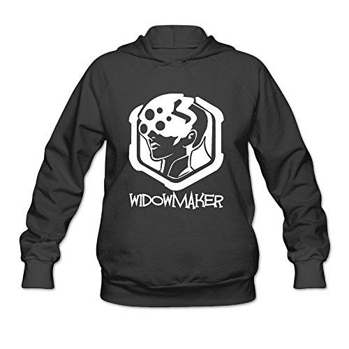 Overwatch Women's Widowmaker Hoodies Sweater Size M Black