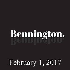 Bennington, February 1, 2017 Radio/TV Program