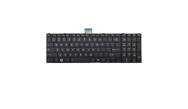 TLfyajJ Laptop US Teclado para Toshiba Satélite C670 °C670d C850 °C850D L775 L830 de L855: Amazon.es: Electrónica