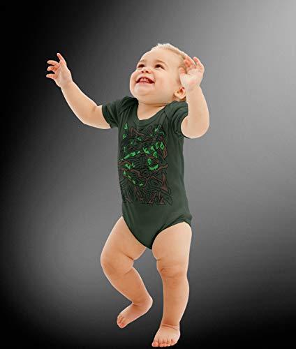 Baby Swamp Hero Costume Bodysuit]()
