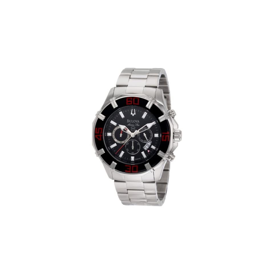 Bulova Mens 96B154 Solano Marine Star Chronograph Watch