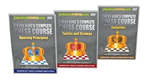 Chess King's Complete Chess Course - ALL 3 VOLUMES