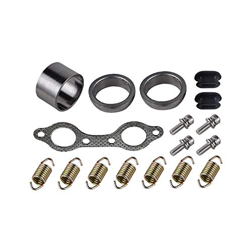 NICECNC UTV Exhaust Muffler Repair Kit Replace POLARIS RANGER RZR 800 EFI 2008 2009 2010