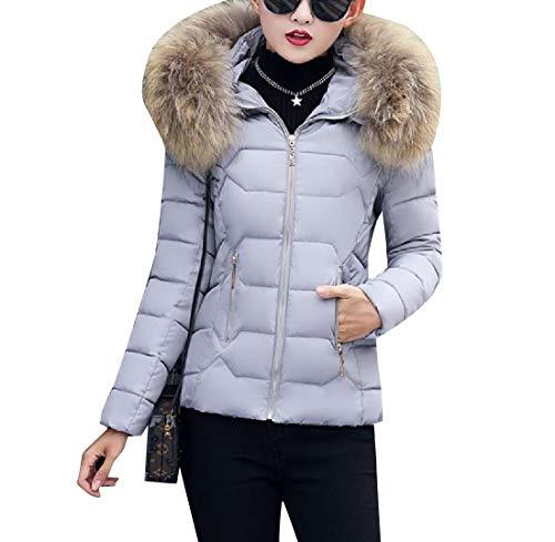 EnergyWomen Warm Short Thickened Hoode Cotton Plus Size Coat Jacket As1