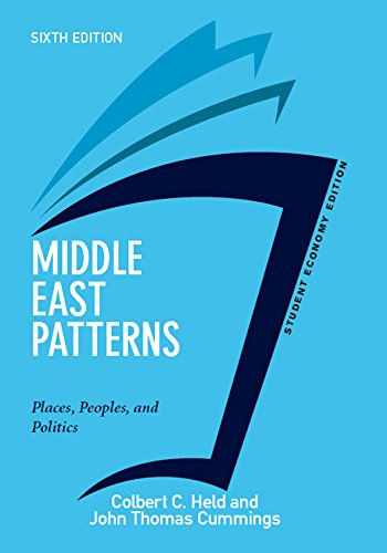 - Middle East Patterns, Student Economy Edition: Places, People, and Politics