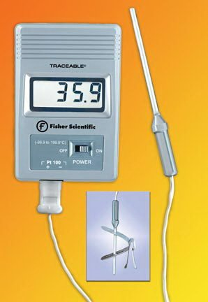 Fisher Scientific Traceable RTD Platinum Freezer Thermometer (1 each) by Fisher Scienitific