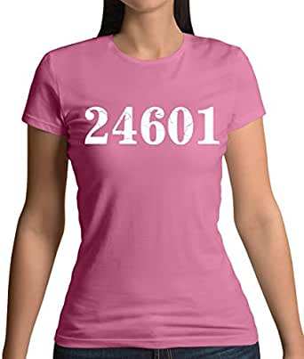 Teesh 24601 Prison Number - Womens T-Shirt-Azalea-Small