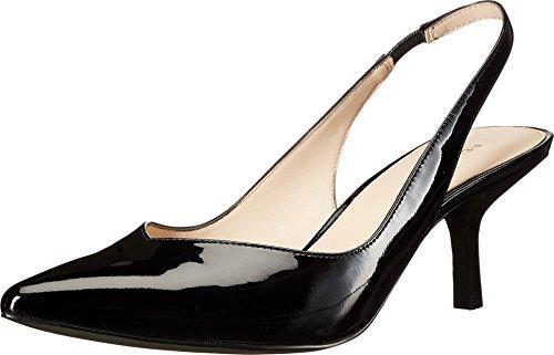 Oasis Pump Pelle Patent sd Dress Moda Women's Black p6xwqxvT