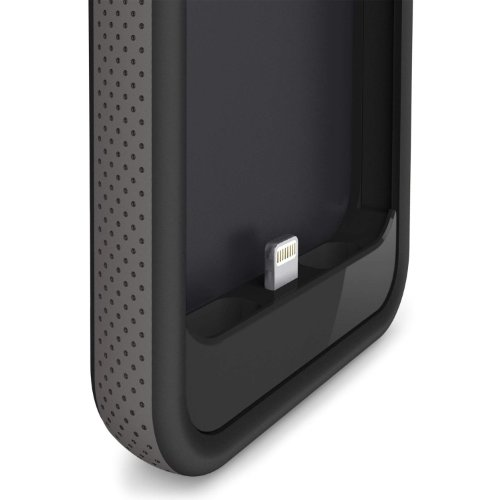 Belkin F8W292TTC00 Grip capability Battery scenario for iPhone 5 Black Cases Covers