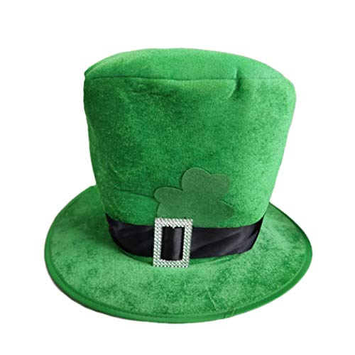 Eyxia St. Patrick's Day Party Hat Costume Top Hat (Green) -