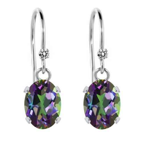 Diamond 925 Sterling Silver Earrings - 3