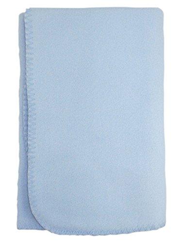 bambini Baby's Blue 100% Polyester Polar Fleece Blanket 100% Polyester Polar Fleece