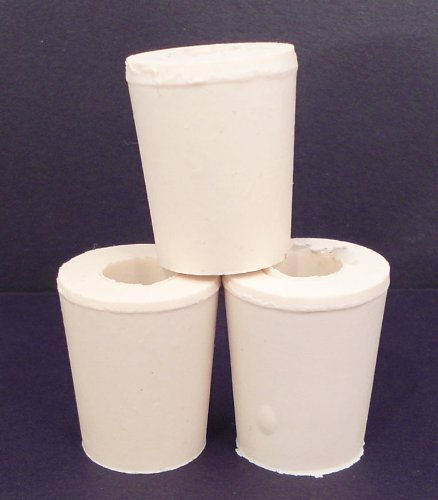 (1 X Drilled Rubber Stopper #2 (Set of 3))