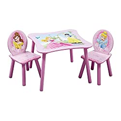 Delta Children Table & Chair Set, Disney Princess