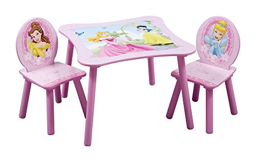 Delta Children Table & Chair Set, Disney (Disney Princess Table Chairs)