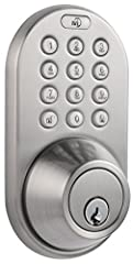This keyless touchpad entry deadbolt allows you to unlock your door using a unique passcode. You can add up to 6 users and delete individual users if needed. Besides having your own personal passcode, it's also great for temporary house guest...