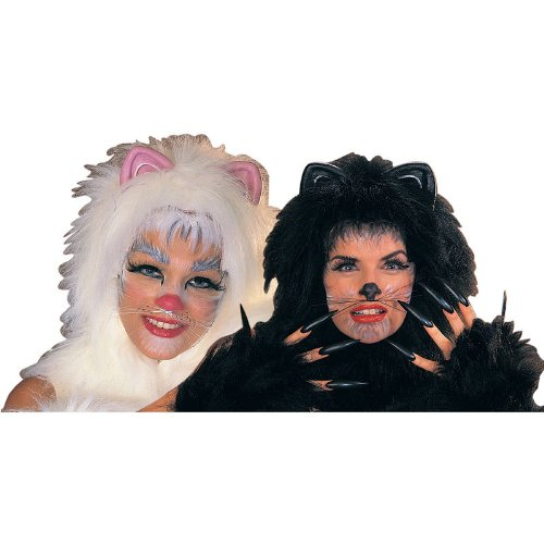 Rubie's Costume Co Animal Whiskers Costume, White, One Size, Multicolor