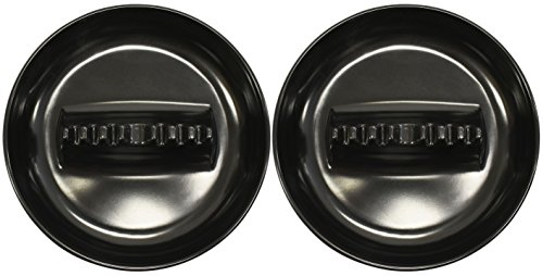 Set of 2 Black Duck Brand Melamine Large Ashtrays - 7