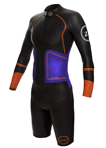 Zone3 Women's Swim-Run Evolution Wetsuit with 8mm Calf Sleeves S by Zone3