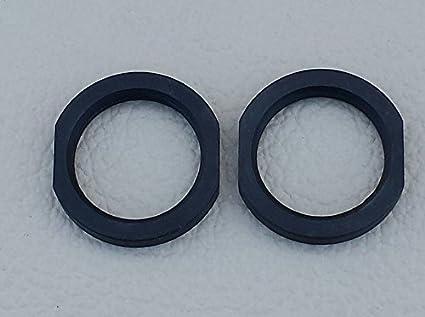 Xtreme Precision 5/8-24 Black Steel Jam Nut (2 pcs) 308, 7 62, 300 Blk