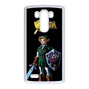 Exquisite stylish phone protection shell LG G3 Cell phone case for The Legend of Zelda Cartoon pattern personality design