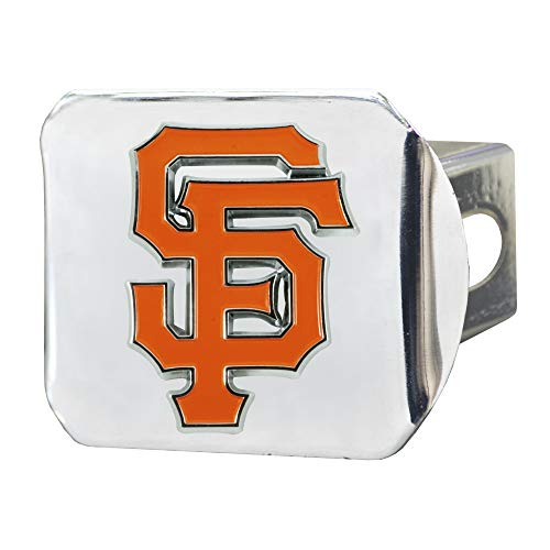 FANMATS MLB - San Francisco Giants Color Hitch - Chrome