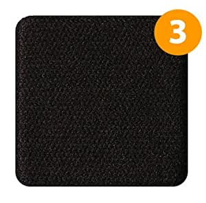 WebCam Cover Solid Black 3 Pack