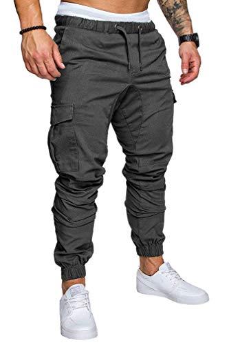 Socluer Homme Pantalons Casual Jeans Sport Jogging Slim Fit Militaire Cargo Montagne Baggy Pants Multi Poches Grande… 2