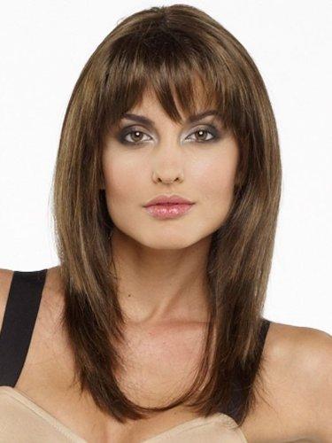 Leyla by Envy Wigs, Color Chosen: - Face Oblong Frames For